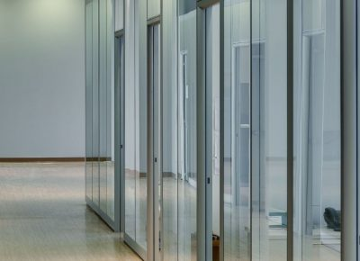 glass partitions walls and green revolution