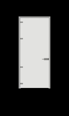 illustration of full glass swing door from IMT