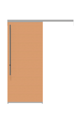 Image of a laminated wood sliding door from IMT